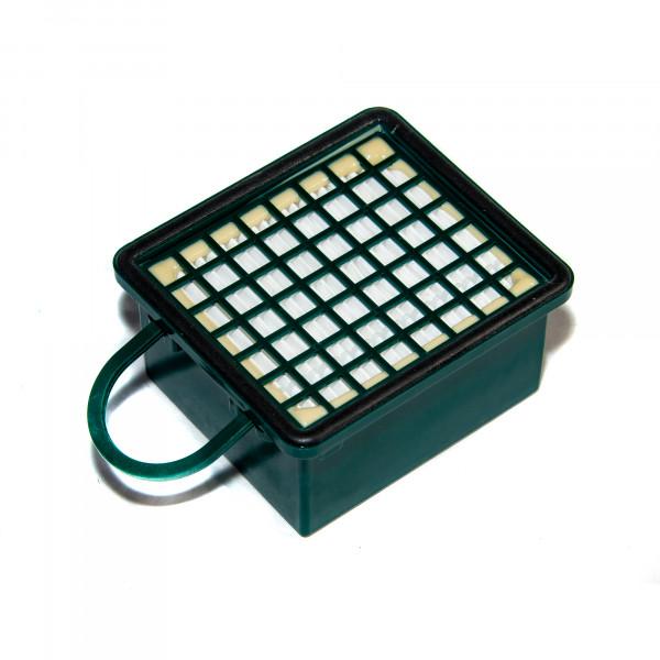 1 Aktivfiltersystem HEPA-Filter passend für Vorwerk Kobold 130 131